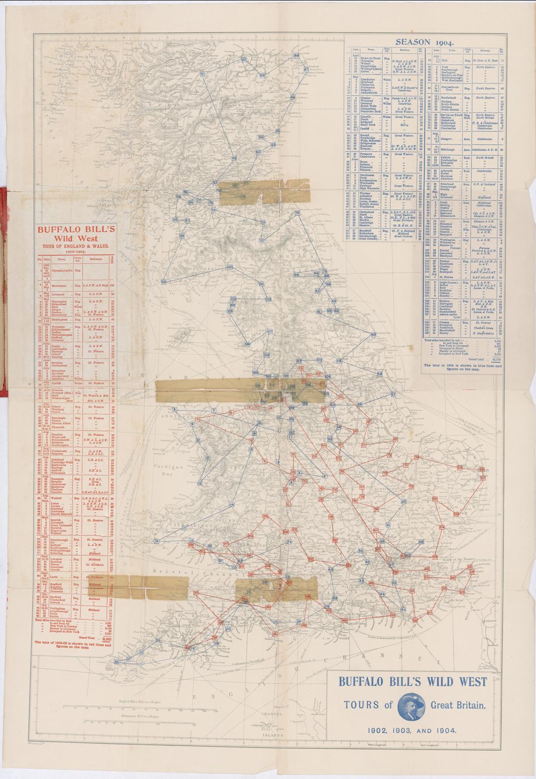 dc806d58dd1 Buffalo Bill UK Tour Map